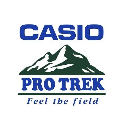 Orologio Casio Pro Trek prw 60t 7aer radio controllato in titanio